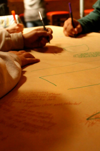Hands on Butcher Paper EDITED